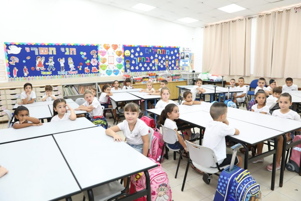 חוזרים ללימודים: 30,211 תלמידים פתחו את שנת הלימודים החדשה באשקלון