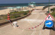 ההכנות לקיץ 2019 בחוף בר-כוכבא באשקלון בעיצומן