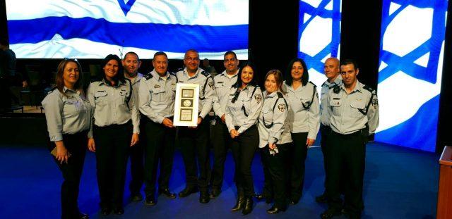 תחנת המשטרה באשקלון זכתה לפרס מצוינות השבוע