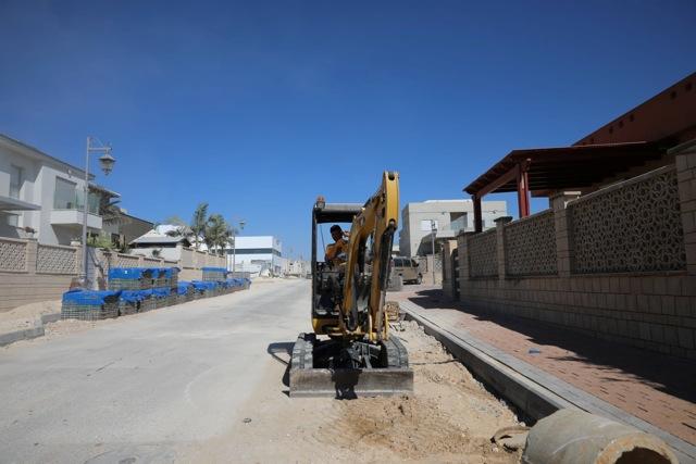עבודות פיתוח נרחבות בשכונת 'הרצוג'