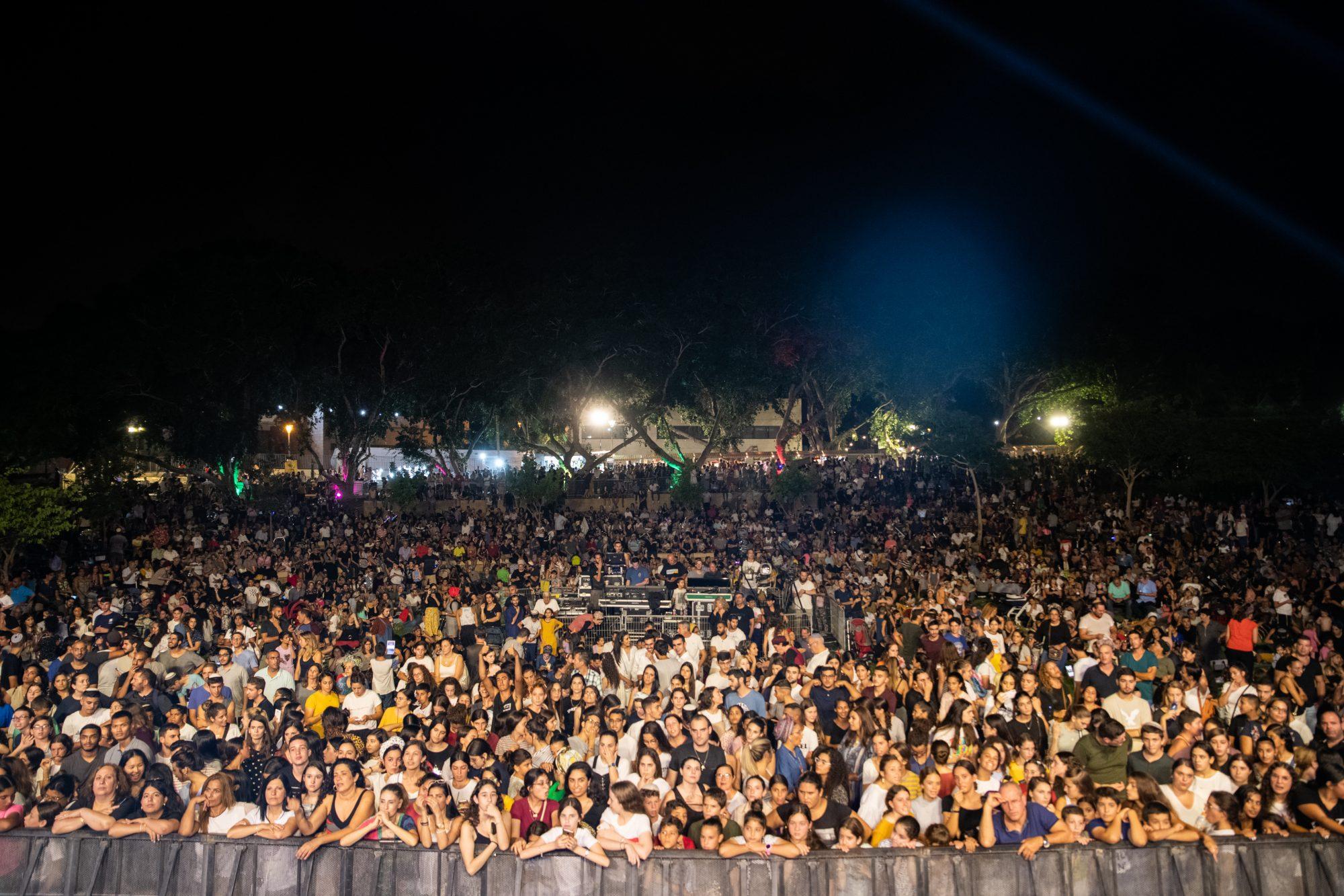 4,500 מתושבי המועצה האזורית חוף אשקלון פקדו את חגיגות הזמר קטיף ביישוב ניצן