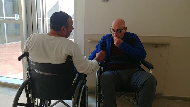 בית החולים ברזילי נלחם למען לוחם הלום קרב בהמשך אשפוזו במחלקת השיקום