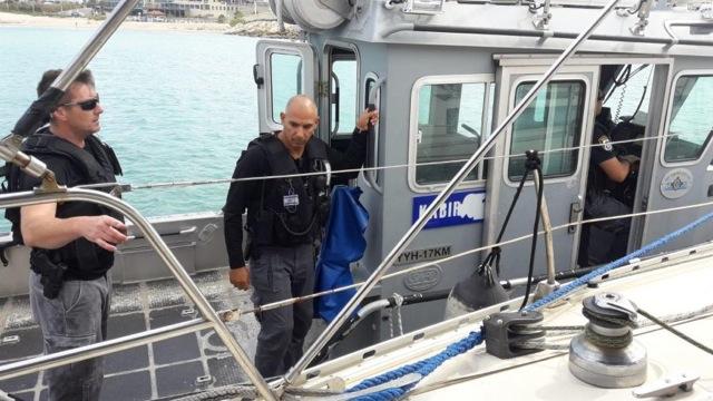 חילוץ ימי מול חופי אשקלון