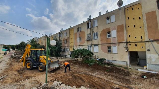 הורחב פרויקט שדרוג השטחים הפרטיים בשכונת רמת אשכול