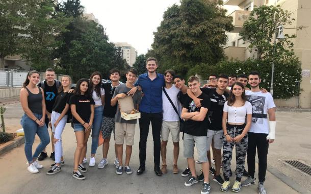 'אות הנשיא להתנדבות' יוענק לקבוצת נוער מאשקלון