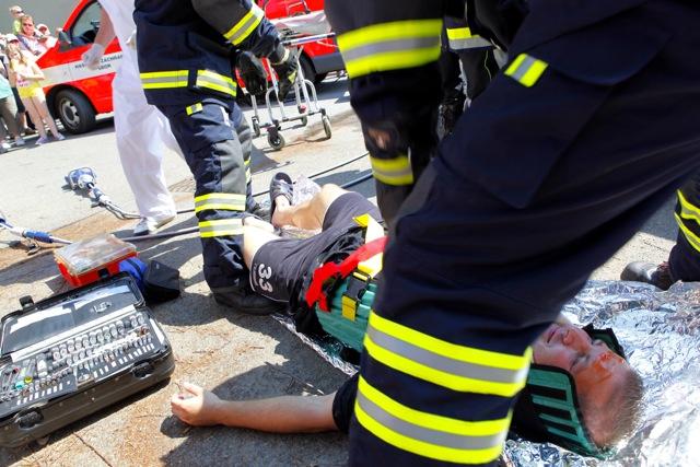 חוט השערה שמפריד בין הפצועים קשה להרוגים
